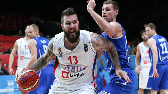 Serbia March On To Last Eight